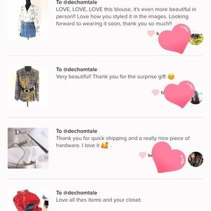 CHANEL Bags - THANK YOU FOR YOUR LOVE NOTES⭐️⭐️⭐️⭐️ 🥰